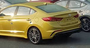 upcoming hyundai elantra 2017 hyundai elantra sport with at least 200hp spied undisguised