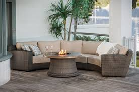 Round Outdoor Sofa Wonderful Curved Outdoor Seating Outdoor Deep Seating Sets Outdoor