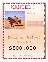 beautiful wanted poster template word images resume samples