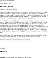 bunch ideas of reference letter for coaching position in template