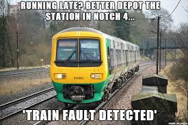 Train Meme - an average day as a train driver meme on imgur