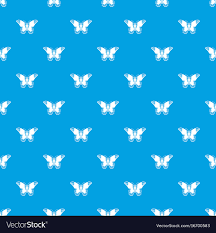 admiral butterfly pattern seamless blue royalty free vector