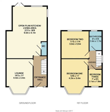 Semi Detached Floor Plans by Property For Sale Wycombe Avenue Blackpool Fy4 1lu Christie