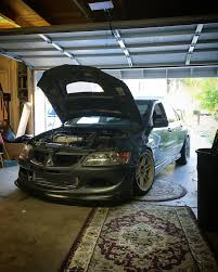 evo stance taylor jones u0027s 2005 evo 8 mr japanese alliance