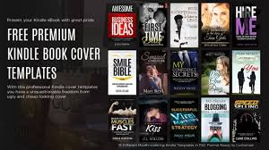 templates for book covers free free psd kindle book cover templates youtube