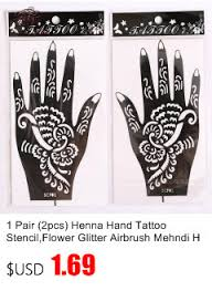 20pcs lot henna tattoo stencils for body painting mehndi indian