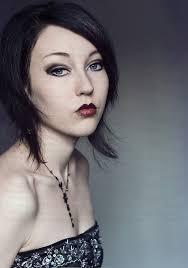 Dark Hair Light Skin Female Youth 20 U0027s Indoors Alone Trigger Image