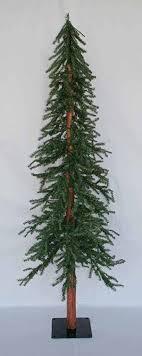10 ft artificial downswept alpine slim tree