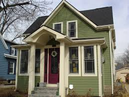 exterior paint fiber cement siding with paint front door and