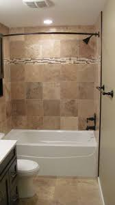 Tiles For Bathrooms Ideas Bathroom Looking Brown Tiled Bath Surround For Small