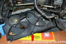 vw center mount fan shroud porsche 944 turbo electric fan and shroud replacement 1986 1991