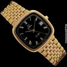 gold omega bracelet images Omega deville midsize mens ultra thin dress watch with bracelet jpg