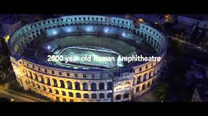Dimensions by Dimensions Festival Opening Concert At Roman Amphitheatre Pula