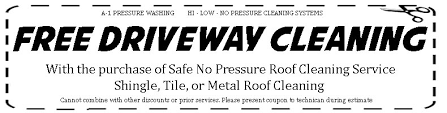 Pressure Washing Estimate by Coupons Pressure Washing Roof Cleaning Washing Port