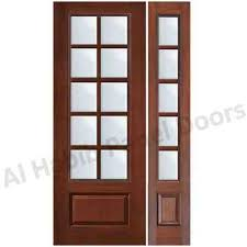 glass wooden door i96 for your great interior decor home with