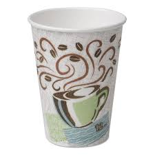 dixie cups dixie coffee dreams design perfectouch 12 ounce paper hot cups