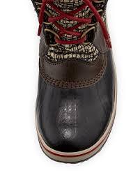 sorel tofino s boots canada sorel tofino ii fur trim quilted boot cordovan neiman