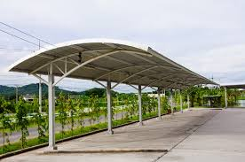 Car Port Designs by Solar Carports Flexibility In Design Miasolé