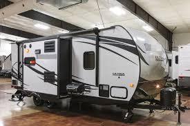 ultra light hybrid travel trailers new 2016 220x ultra lite hybrid travel trailer 2 slide out cer