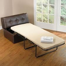 Wooden Folding Bed Armchair Bed With Pull Out Ottoman Fold Away Bed