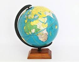 Desk Globes Vintage World Globes And Related Merchandise By Vintagecals