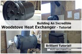 wood stove heat exchanger choice image home fixtures decoration