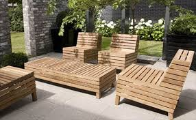 Outdoor Wooden Patio Furniture Wood Patio Furniture Backyard Ideas With Wood Patio