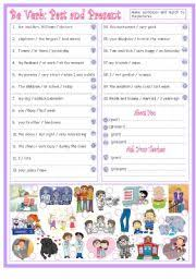 english worksheets subject pronouns worksheets page 6
