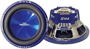 amazon com subwoofers electronics amazon com pyle plbw84 blue wave 8 inch 600 watt high powered