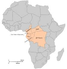 Africa Political Map Quiz by Map Of Central Africa My Blog