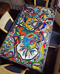 tile table top design ideas 328 best mosaic tables countertops images on pinterest mosaic