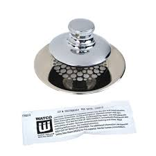 Tub Drain Stopper Stuck In Pipe by Watco Universal Nufit Push Pull Bathtub Stopper Grid Strainer And