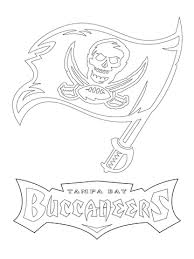 nfl team coloring pages tampa bay buccaneers logo coloring page free printable coloring