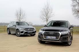 Comparatif Si E Auto B Vidéo Audi Q5 Vs Mercedes Glc Du Ring