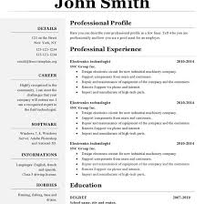 Office Resume Template Download Resume Templates For Openoffice Haadyaooverbayresort Com