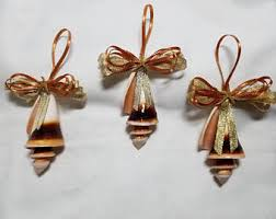 shell ornament etsy