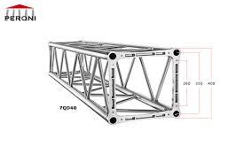 americane tralicci 7qd40 americane quadrate hd 40 cm americane in alluminio peroni