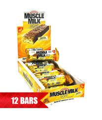 muscle milk light bars muscle milk light bar 45gr 12 x 45gr