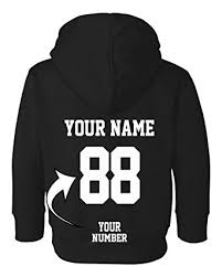 custom toddler hoodies design your own jersey