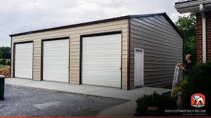 Garage With Carport Metal Garages For Sale Order Customized Metal Garage And Kits
