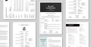 Creative Resume Templates Download Creative Resumes Templates Creative Resumes 4page Resume