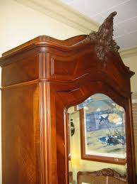 antique french armoire for sale french mahogany walnut wood mirror armoire for sale antiques com