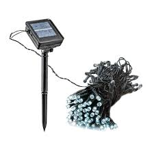 String Lights For Patio Home Depot by Amazon Com 55 U0027 Foot Solar Powered Outdoor Christmas String