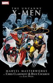 Uncanny Marvel Masterworks The Uncanny X Men V01 V10 2014 2017