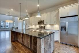 rustic barn wood kitchen island by ecustomfinishes reclaimed ideas