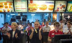 moscow s mcdonald s reopens after 90 day closure fortune
