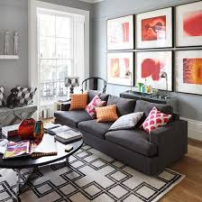 home interior ideas living room grey orange living room home design plan