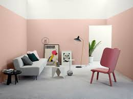 pastel pink wall paint color trends for 2017 architecturein