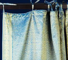Sari Fabric Curtains Sari Curtains Curtains Ideas