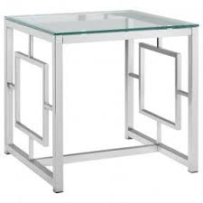 Glass And Metal Coffee Tables Metal Coffee Table With Glass Top Foter